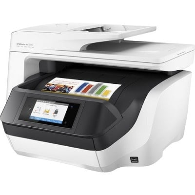 HP OfficeJet 8720 All-in-One Printer is an inkjet printer that delivers a low cost per page
